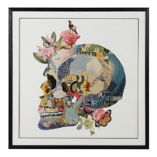 Skull Collage Picture